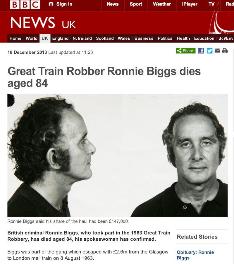 Ronnie Biggs