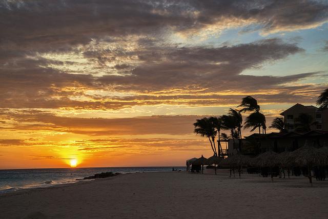 Shore_sunset